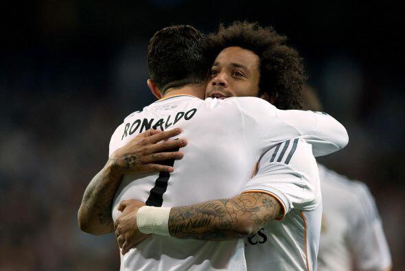 Marcelo sería el autor del 2-0 madridista.