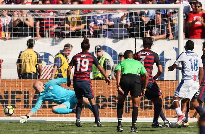 Estados Unidos y Panamá se presentan con un deslucido empate Getty Migue...