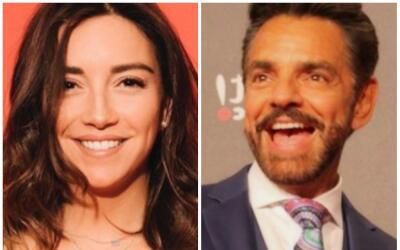 Regina Blandón y Eugenio Derbez