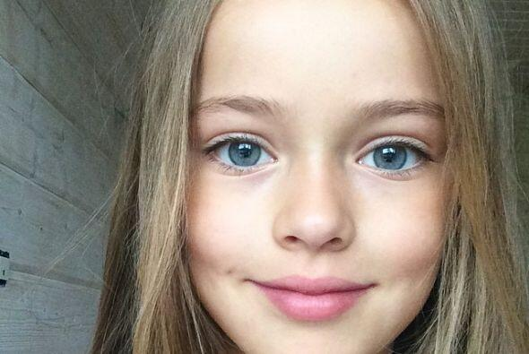 La pequeña ha posado para reconocidas e importantes firmas como Armani y...