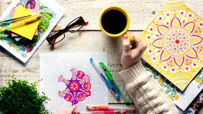 Colorear, otra forma de quitarse el estrés de encima