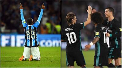 Real Madrid y Gremio disputan la supremacía del Mundial de Clubes