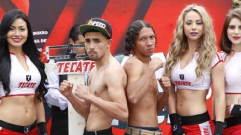 Mendoza y Fuentes en peso (Foto: Zanfer).