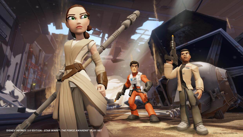 El nuevo videojuego de Star Wars: The Force Awakens.