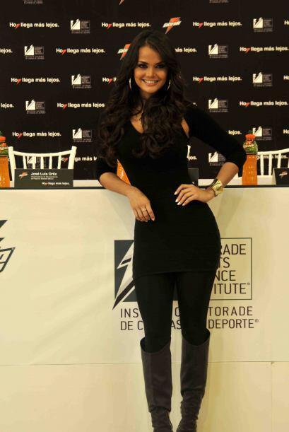Marisol González, la hermosa y talentosa conductora y comentarista de de...
