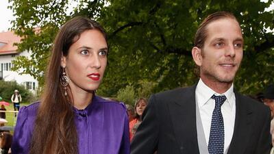 Andrea Casiraghi y su esposa Tatiana esperan a su segundo bebé real