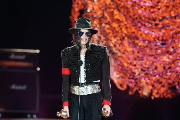 """El conocido como """"rey del pop"""" falleció en 2009."""