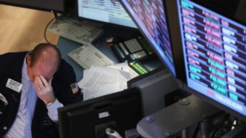 Wall Street resiente los desacuerdos políticos en el Congreso de EU.