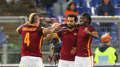 La Roma le pega 3-1 al Empoli y acecha el liderato en la Serie A