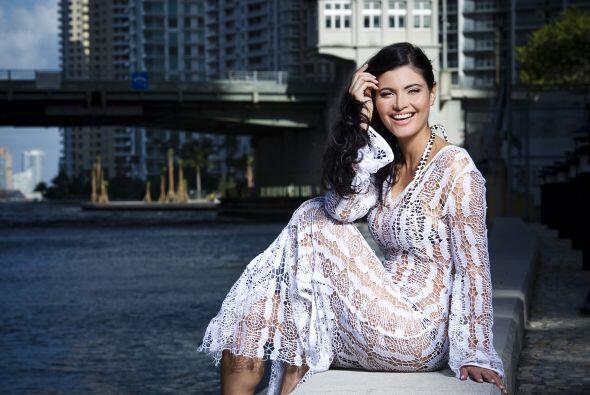 Bueno, fue una de las finalistas de Miss Venezuela.