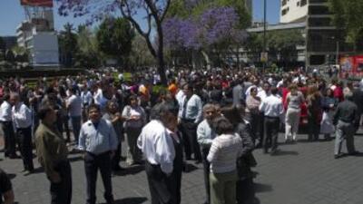 Un sismo de 7.8 grados Richter se registró en México.