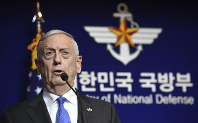 Jim Mattis, secretario de Defensa de EEUU, alerta de los riesgos de ataq...