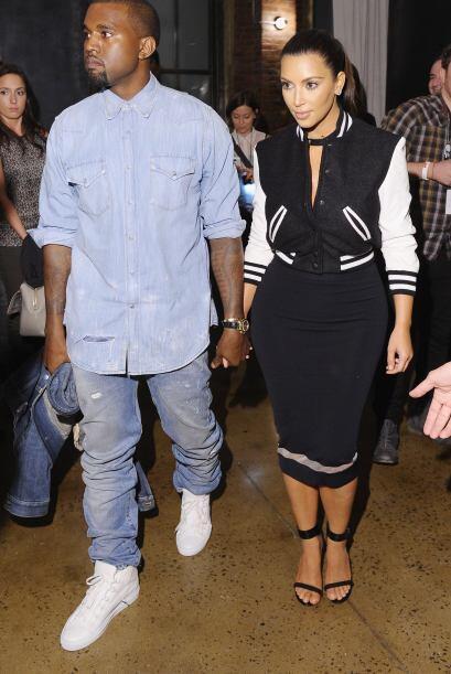 Incluso Kim llegó a declarar en una revista que Kanye tiene mejor estilo...