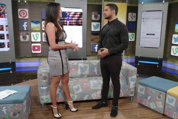 Junto a Maity, el guapo actor venezolano recordó que en univisioncontigo...