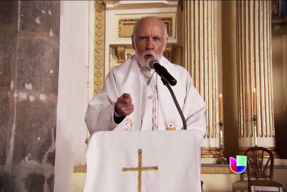 Y te advertimos que el padre Sixto quiere que ya dejes de mentir. En el...