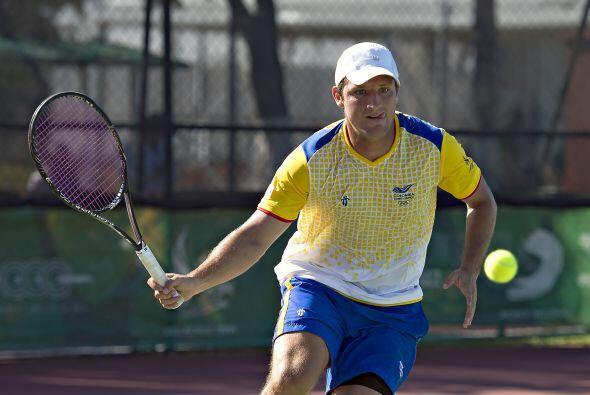 En la rama varonil de la Copa de Naciones de tenis, los colombianos Juan...