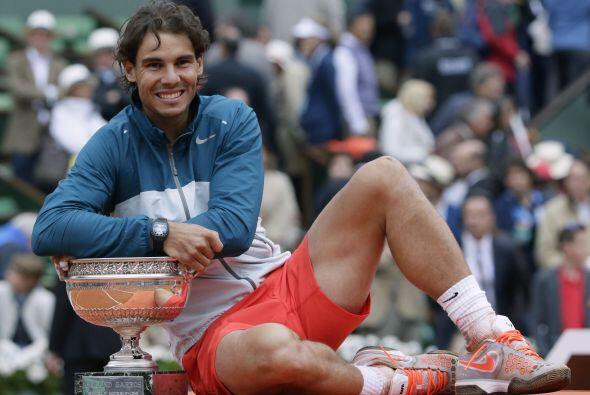 Nadal rompió su propia plusmarca y llevando a ocho sus títulos del torne...
