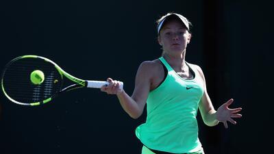 Primera exhibición 'angelical' en el comienzo del WTA Miami Open