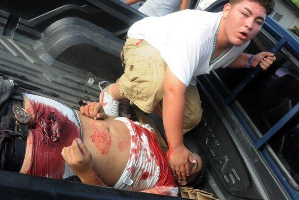 Después, el jefe policial, subcomisionado Héctor Iván Mejía, declaró a p...