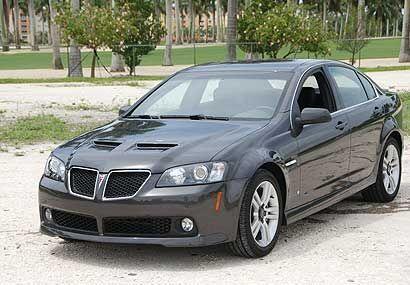 El Pontiac G8 es el nuevo sedán de estilo europeo del fabricante GM.