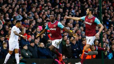 West Ham venció al Liverpool en casa