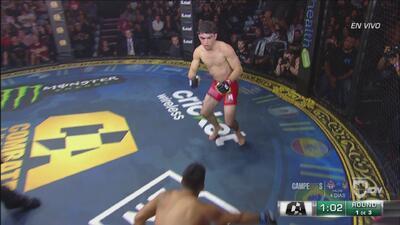 ¡López vuelve a caer pero también responde al ataque del 'Pochito'!