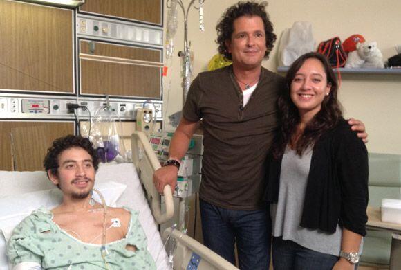 Carlos prometió a Danny que cuando saliera del hospital, irían juntos de...