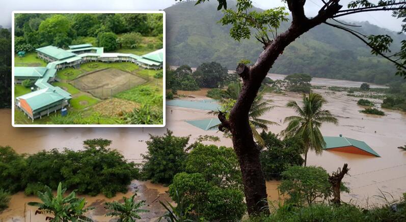 Las impactantes imágenes de la destrucción causada por la tormenta tropi...