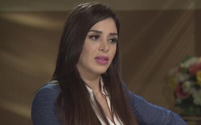 Emma Coronel decide salir del anonimato