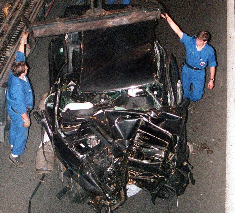 Automóvil Princesa Diana de Gales