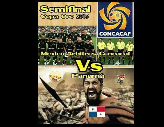 La semifinal de la Copa Oro entre México y Panamá cerró con una polémica...