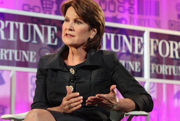 7. Marillyn Hewson.  La Presidente y CEO de Lockheed Martin tiene la s&e...