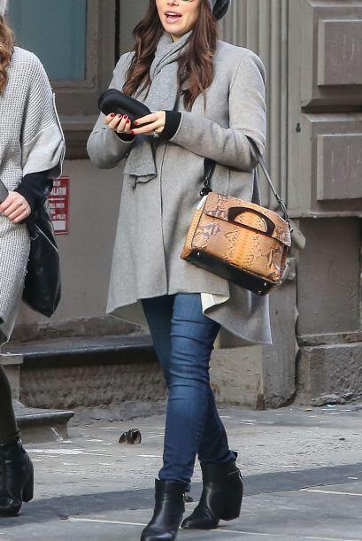 Un estilo que también nos dejó ver la esposa del cantante Justin Timberl...