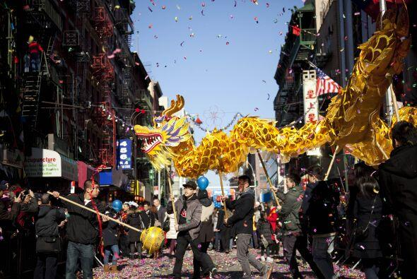 La popularidad del Barrio Chino en el extranjero ha crecido. Washington...