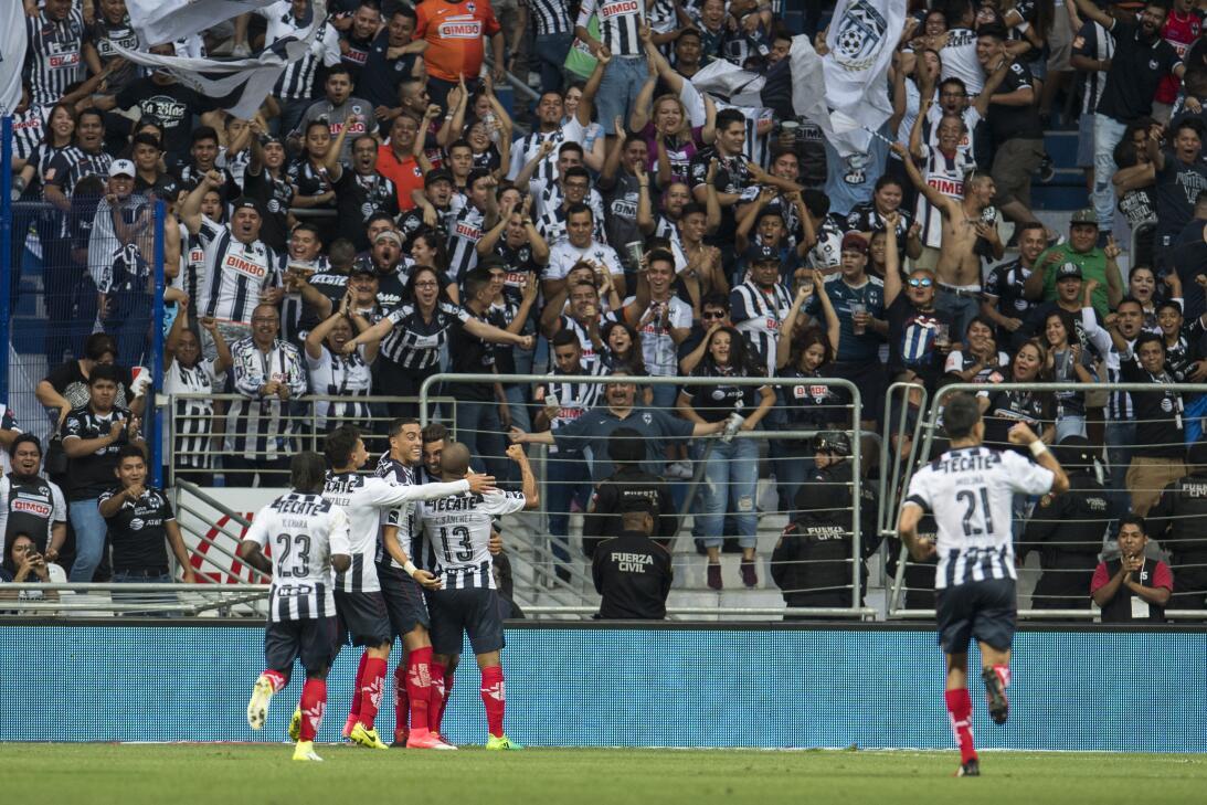 Monterrey es líder provisional tras golear a Chiapas Celebración.jpg