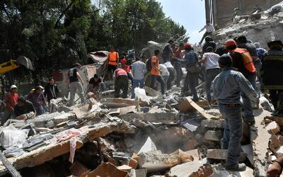 En el terremoto de Ciudad de México, al igual que hace 32 a&ntild...
