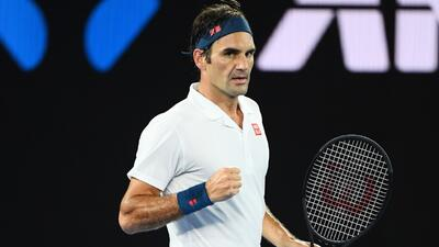 Roger Federer sigue intratable en Melbourne y avanza a Octavos de Final