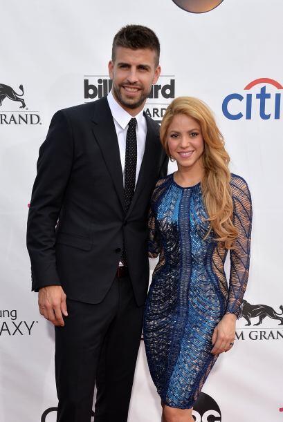 Shakira y Gerard Piqué fueron los reyes de la alfombra. Mira aquí lo últ...