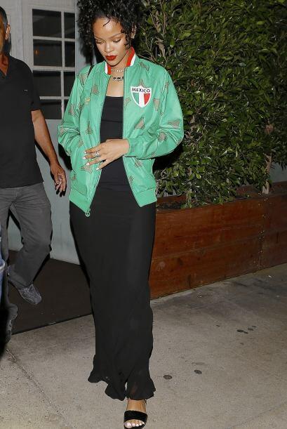 Pero el amor de Rihanna por la selección mexicana se ganó el corazón de...