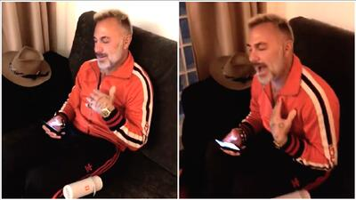 Ya sabemos cómo baila Gianluca Vacchi: no te pierdas ahora cómo canta (no muy bien)