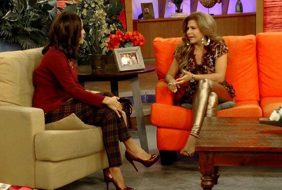 La cantante Carmen Jara estuvo de invitada en Despierta América p...