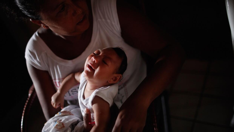 La bebé nació en Carúpano, en el noreste de Venezue...