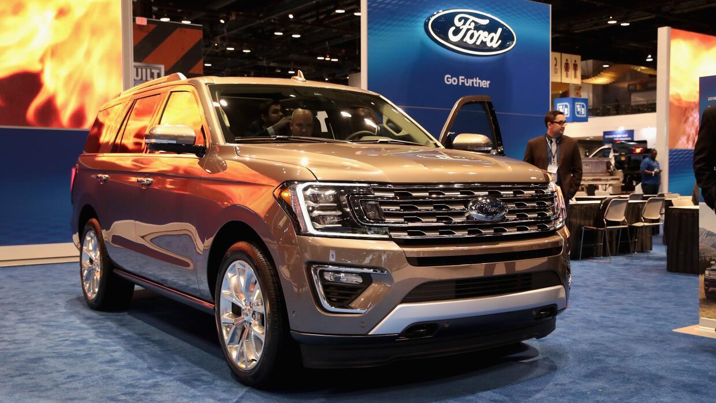 La Ford Expedition 2018 en el Auto Show de Chicago 2017