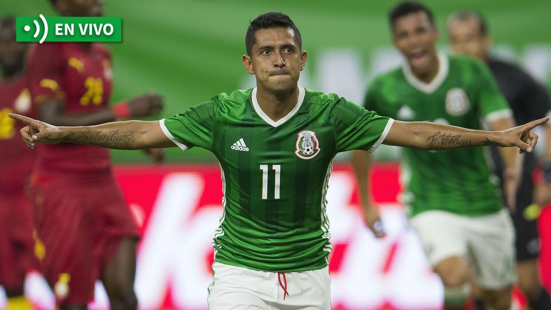 En vivo: México vs. Ghana