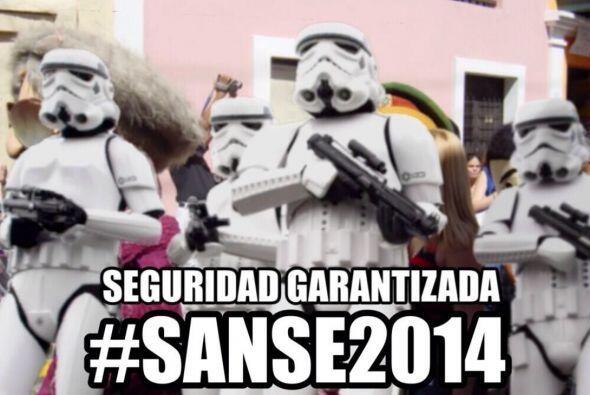 """""""La seguridad """"ready"""" en la #SanSe2014""""- @ImagineSuCara"""