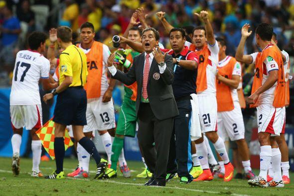 Jorge Luis Pinto por el contrario transmitió seguridad a su equipo que s...
