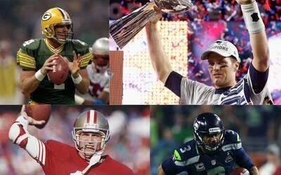 QB's campeones de la NFL que no fueron seleccionados en la 1era ronda de...