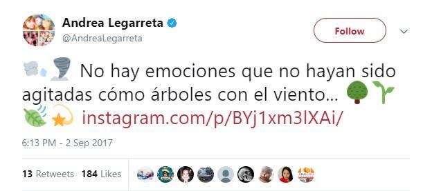 Mensajes tristes de famosos en Twitter