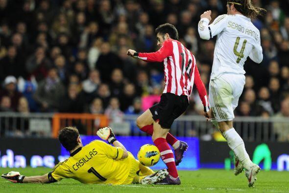 Pero el Real Madrid cerró la jornada dominical recibiendo al Athletic de...