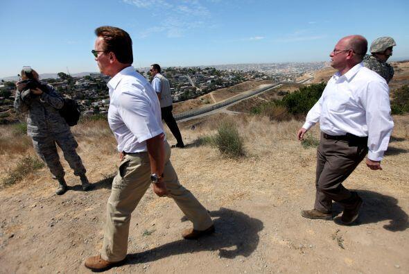 El gobernador de California Arnold Schwarzenegger anunció el miércoles q...